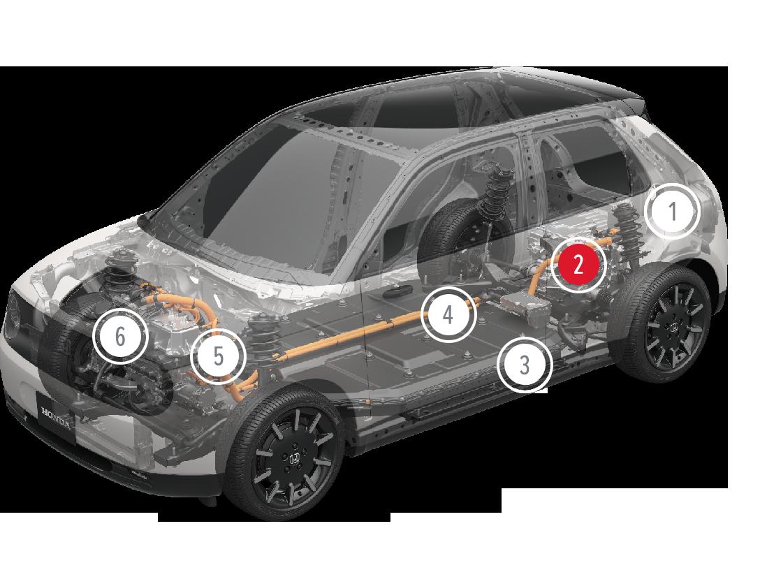 Honda-e-skeleton2